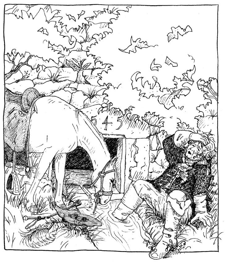 Illustration Wachtelbrunnen